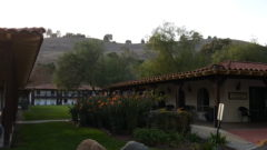 The lodgeing courtyard at Rancho Capistrano. Creative Church Arts Conf. 2018.